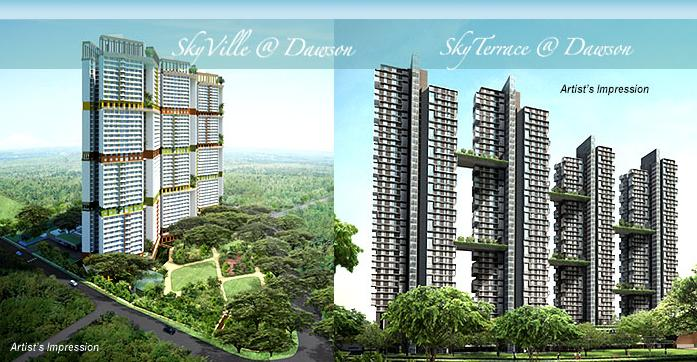 New Generation of Public Housing, the SkyVille and SkyTerrace @ Dawson